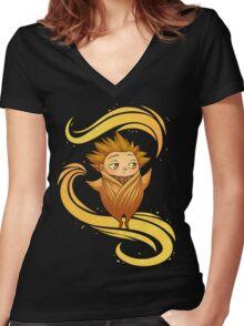 RoTG - Sandman Women's Fitted V-Neck T-Shirt