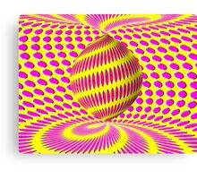 Optical Illusions Canvas Print