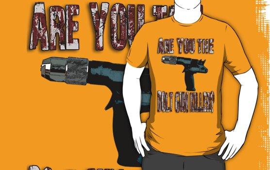Are You The Bolt Gun Killer? by perilpress