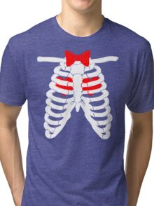 Doctor Who Hearts Tri-blend T-Shirt
