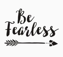 Be Fearless One Piece - Short Sleeve