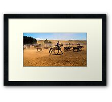 The Muster Framed Print