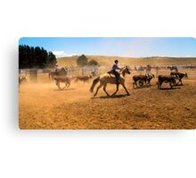 The Muster Canvas Print