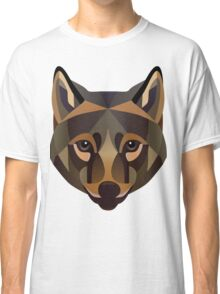 Brown Wolf Classic T-Shirt