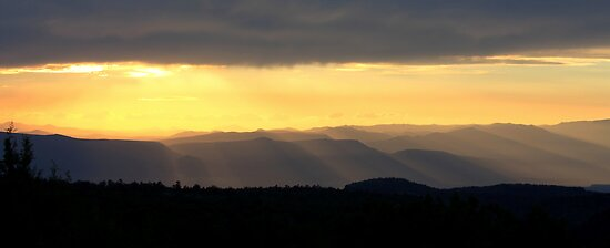 Verde Valley Sunset by Candy Gemmill