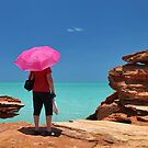 Pink Umbrella by Mark Ingram