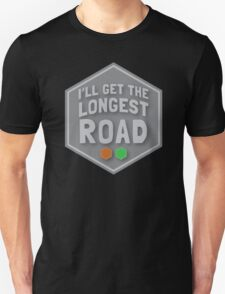 I'll get the LONGEST ROAD brick and forest T-Shirt