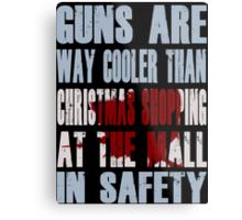 Guns Are Cool - The Mall Metal Print