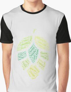 Hop Varietals Graphic T-Shirt