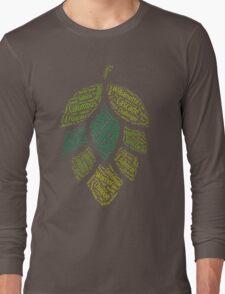 Hop Varietals Long Sleeve T-Shirt