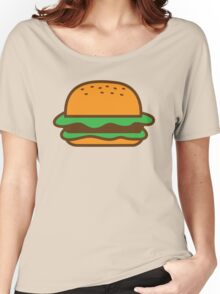 Hamburger bun with meat Women's Relaxed Fit T-Shirt