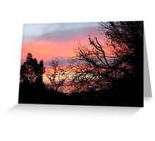 Ten Minutes Before Sunrise Greeting Card
