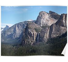 Scene from Yosemite National Park Poster