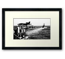 Japanese Battleship 3 Framed Print