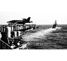 Japanese Battleship 3 Photographic Print