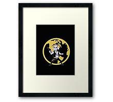 Goat Solo Framed Print