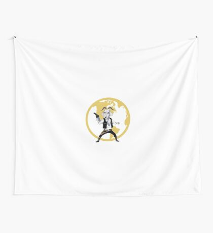 Goat Solo Wall Tapestry