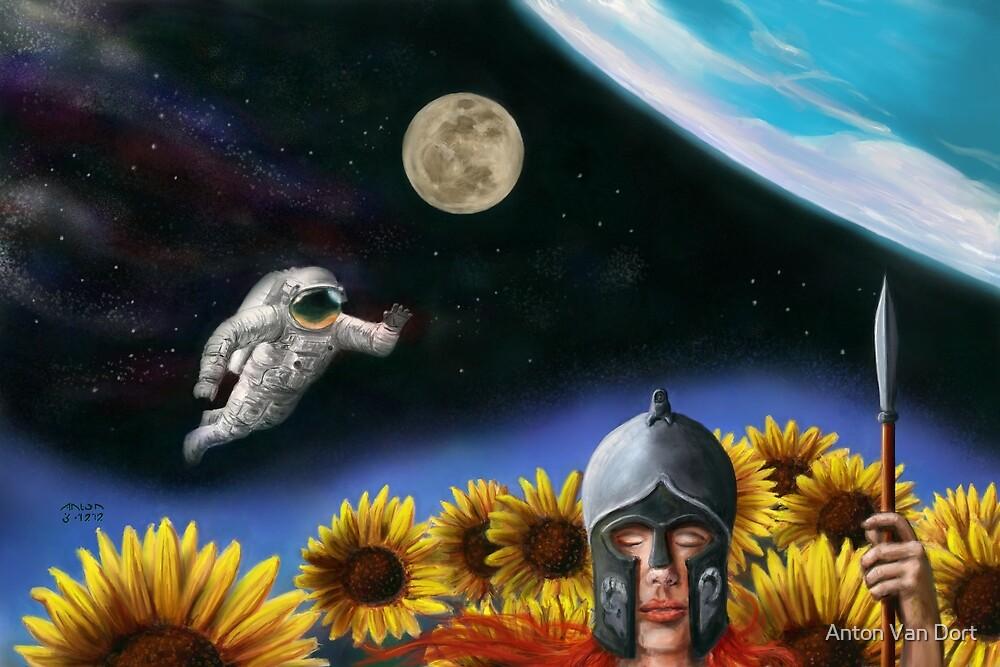 The Astronaut's Dream - 2 by Anton Van Dort