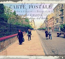 Greetings from Chernivtsi V (Postcard) by alecksmart