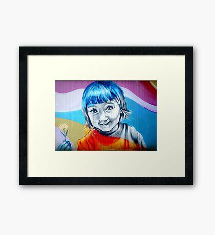 Easily...  Framed Print
