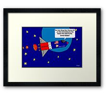 The Only Thing That Worries Me Framed Print