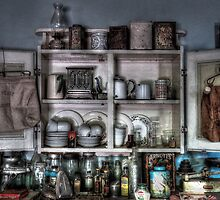 Kitchen memorabilia ~ Living Museum, Junee NSW by Rosalie Dale
