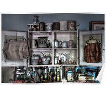 Kitchen memorabilia ~ Living Museum, Junee NSW Poster
