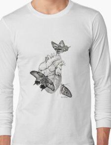 Heart Flutter Long Sleeve T-Shirt