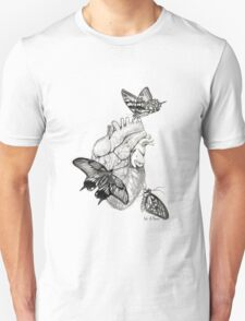 Heart Flutter Unisex T-Shirt