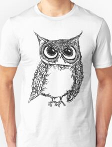 Serious Owl T-Shirt