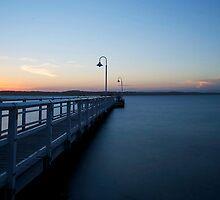 Murray's Beach Sunset by Liam Robinson