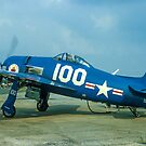Grumman F8F-2P Bearcat NX700H S-100 by Colin Smedley