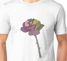 Coloured Rose Unisex T-Shirt