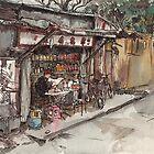Yue Long scene by Adolfo Arranz