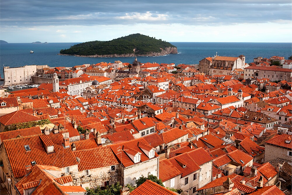 Dubrovnik and Lokrum Island by Artur Bogacki