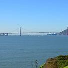 Golden Gate as seen from Alcatraz by terjekj