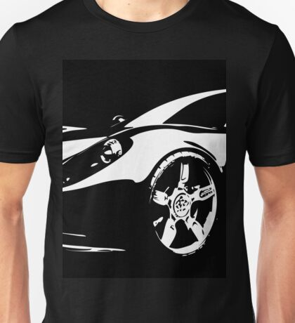 8 Ferrari Sports Car By Chris McCabe - DRAGAN GRAFIX Unisex T-Shirt