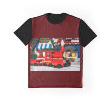 Red Train Graphic T-Shirt