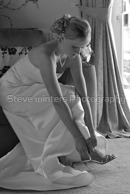 Getting ready by Steve winters Photography