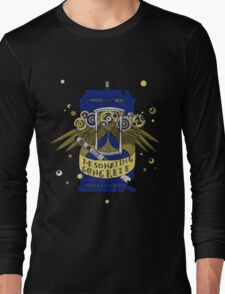 Resonating Concrete Since 1963 - Doctor Who Screwdriver & Tardis Long Sleeve T-Shirt
