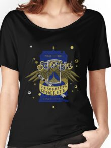 Resonating Concrete Since 1963 - Doctor Who Screwdriver & Tardis Women's Relaxed Fit T-Shirt