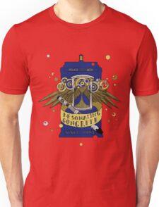 Resonating Concrete Since 1963 - Doctor Who Screwdriver & Tardis Unisex T-Shirt