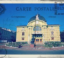 Greetings from Chernivtsi VII (Postcard) by alecksmart
