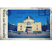 Greetings from Chernivtsi VII (Postcard) Photographic Print