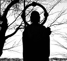 Buddhist Silhouette 2 by Fike2308