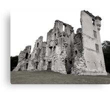 Old Wardour Castle, England Canvas Print