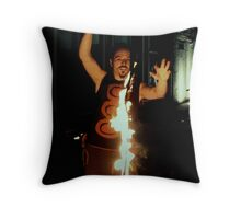 Playing With Fire #1 Throw Pillow