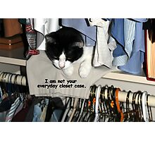 Not your everyday closet case! Photographic Print
