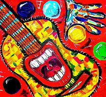 GUITAR MOUTH SEQUEL by Claudine West
