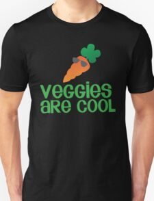 Veggies are COOL! with a carrot T-Shirt
